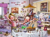 Kattis och Roffe illustration
