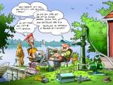 EMS Pumpar Sommar illustration