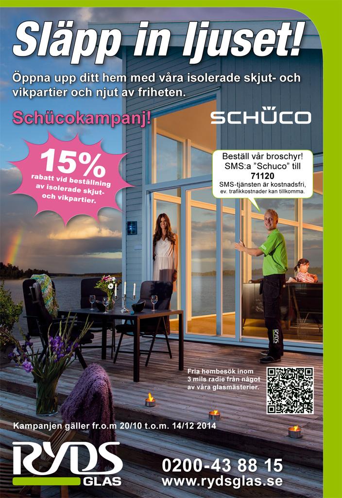 Ryds Glas Shuco Campaign