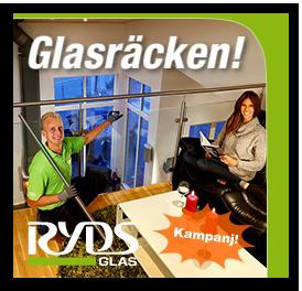 Ryds Glas Glasräcken 250x240