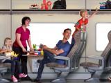 Tåg i Bergslagen 2 illustration