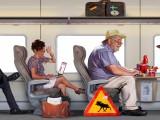 Tåg i Bergslagen 5 illustration