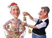 Digitalporten Julkort illustration