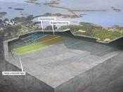SKB Slutförvar av kärnbränsle illustration