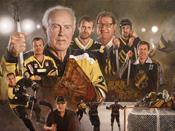 Aik ishockey idrottskonst illustration