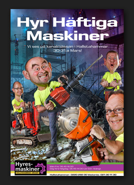 Hyresmaskiner Hyr Häftiga Maskiner