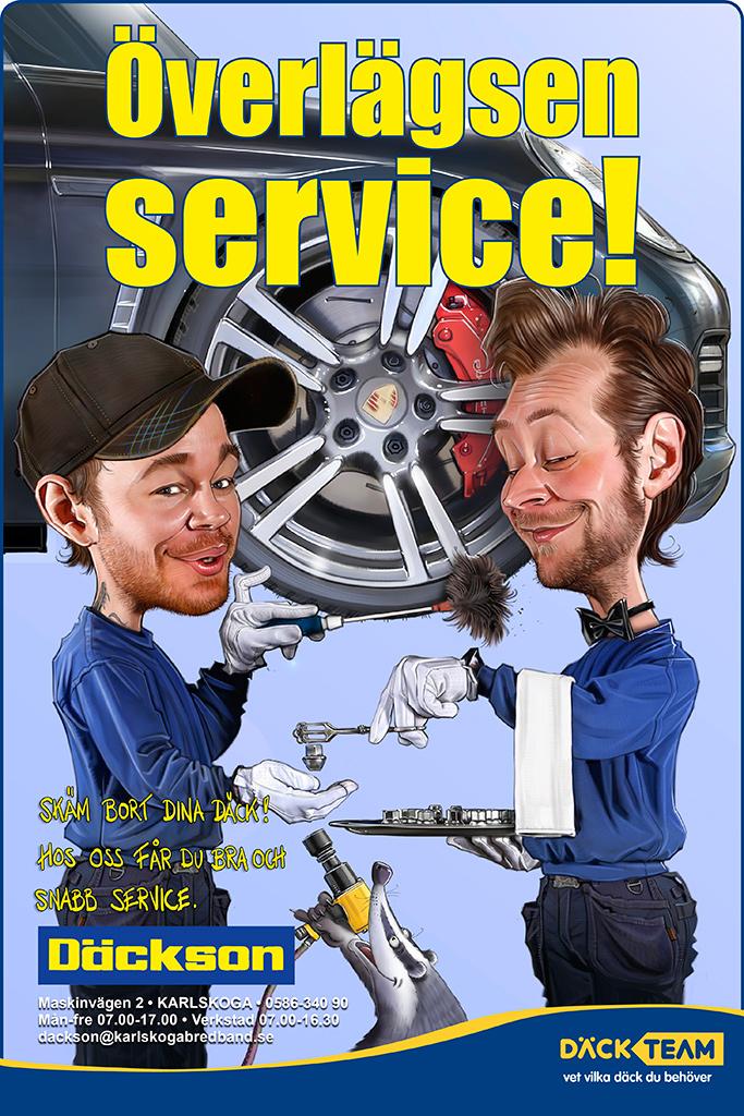 Överlägsen Service! Däckteam