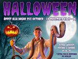 Kungsbyn Halloween Illustration