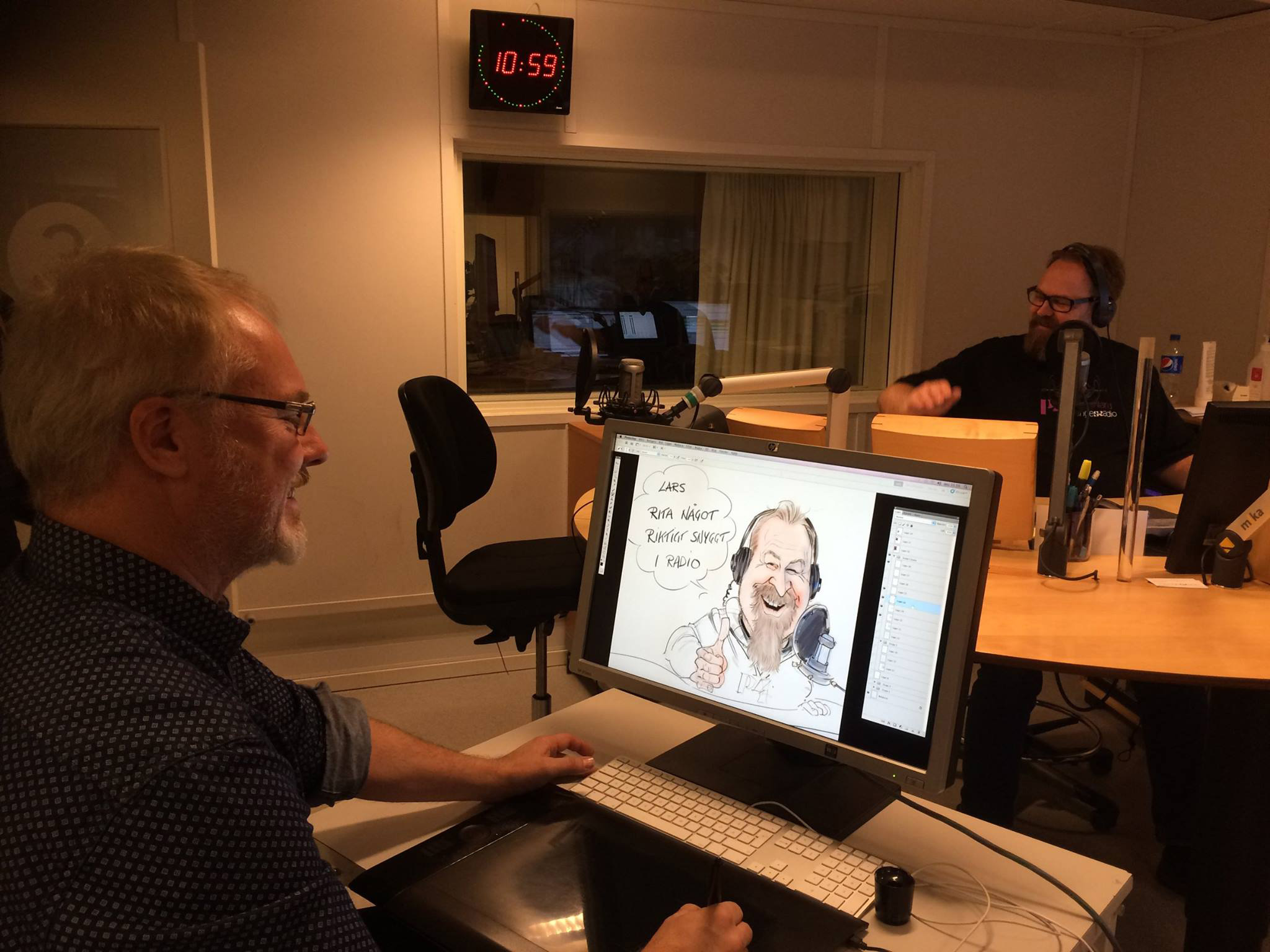 Sveriges Radio P4 Västmanland Lars tecknar