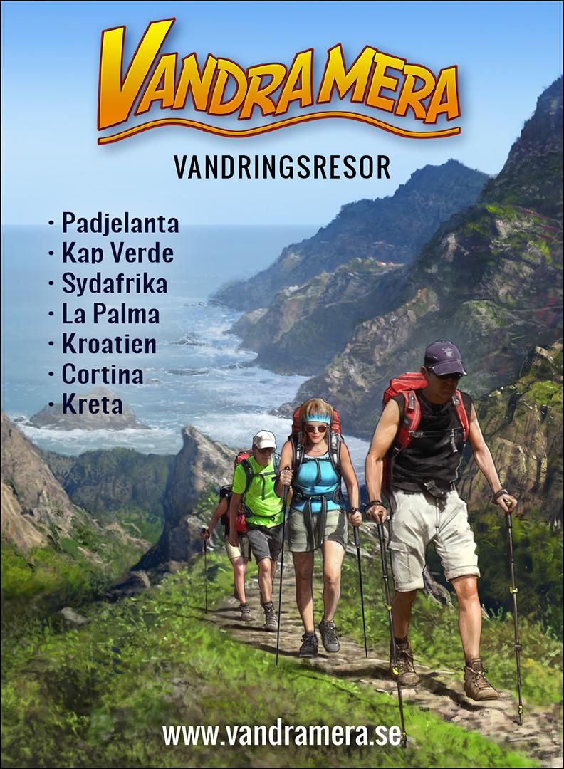 Vandramera Annons i tidningen Turist