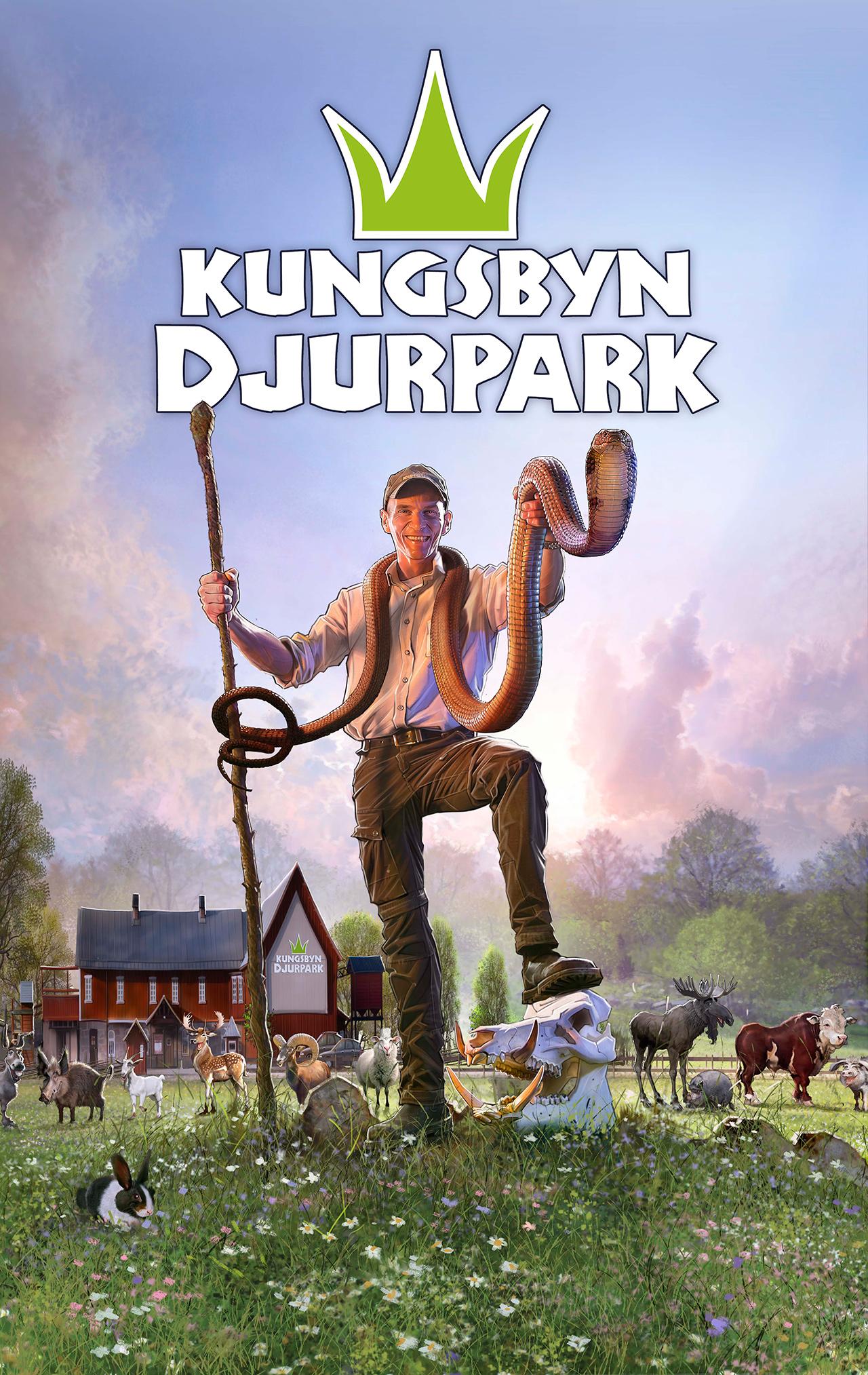 Kungsbyn Henrik Sommar Kungskobra Illustration