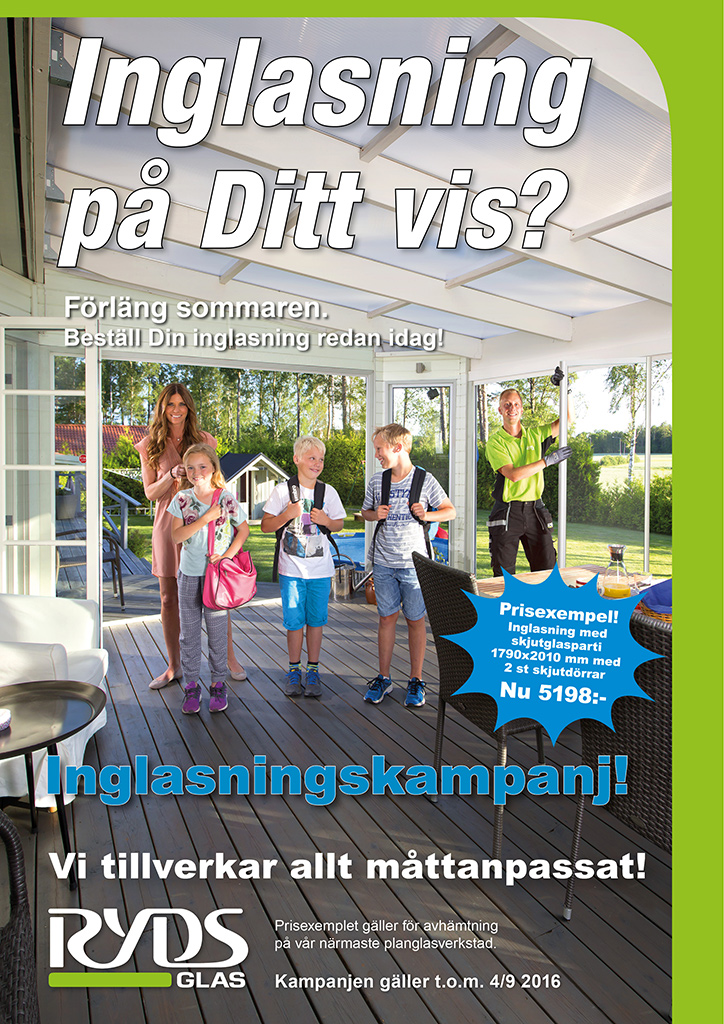Ryds Glas Inglasningskampanj Skolstart i4