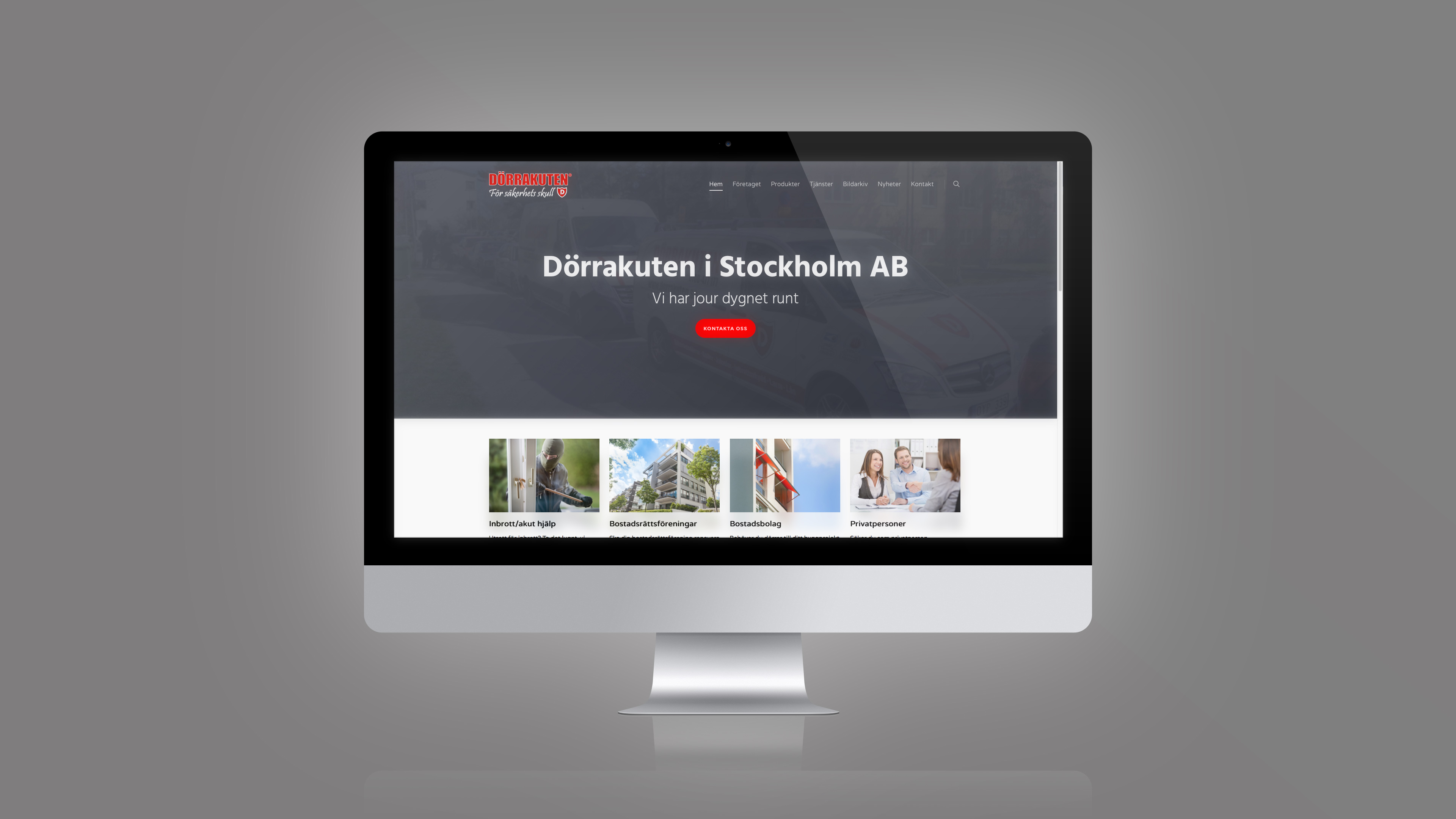 Dörrakuten Website Big picture