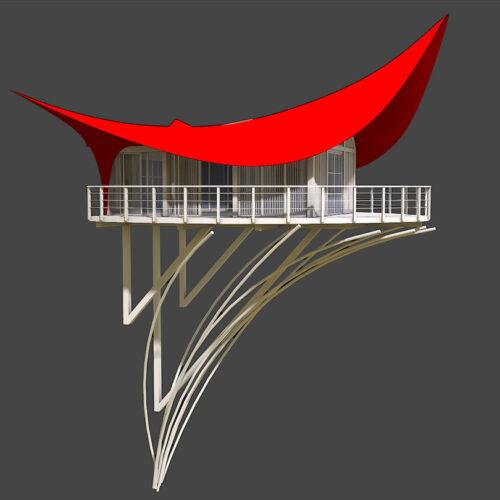 arkitektur-exterior-byggnad-mountain-tent-kina-genberg-laj-illustration