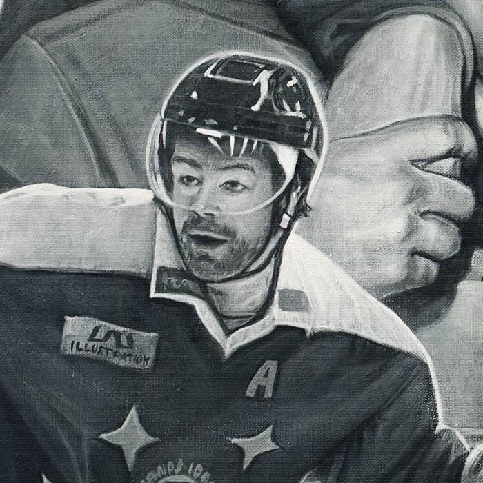 Urklipp 5 av Leksand-Hockey-tavla_skapad på Laj illustration